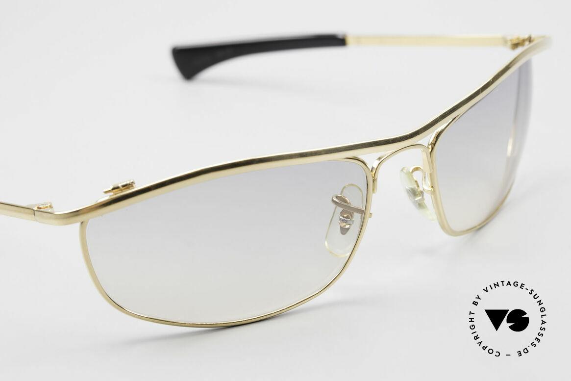 Ray Ban Olympian I DLX Easy Rider Film Sonnenbrille, Gläser sind nur 30% getönt (ähnlich wie im Film), Passend für Herren