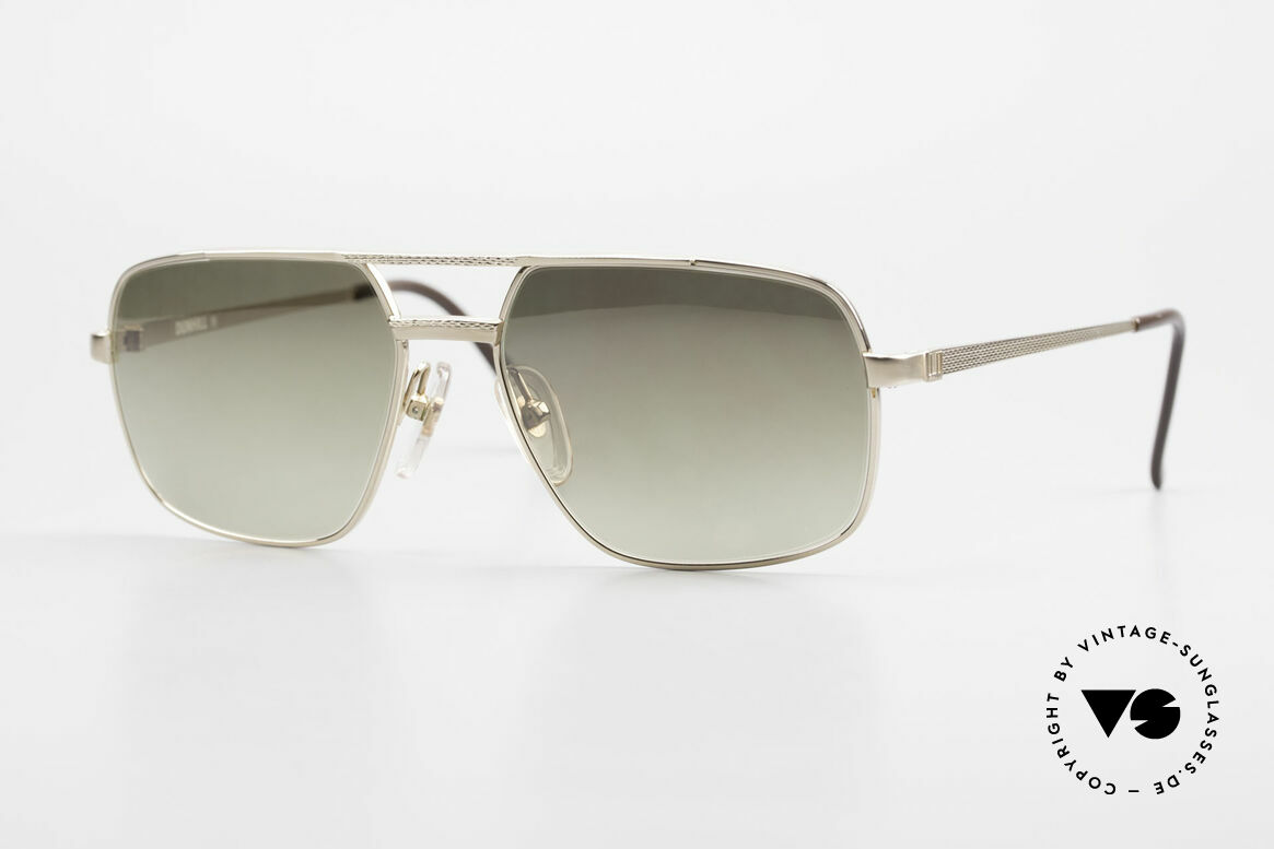 Dunhill 6068 Gold Doublé 14kt Gold Filled, Gold Doublé 1/20 14kt Sonnenbrille von A. DUNHILL, Passend für Herren