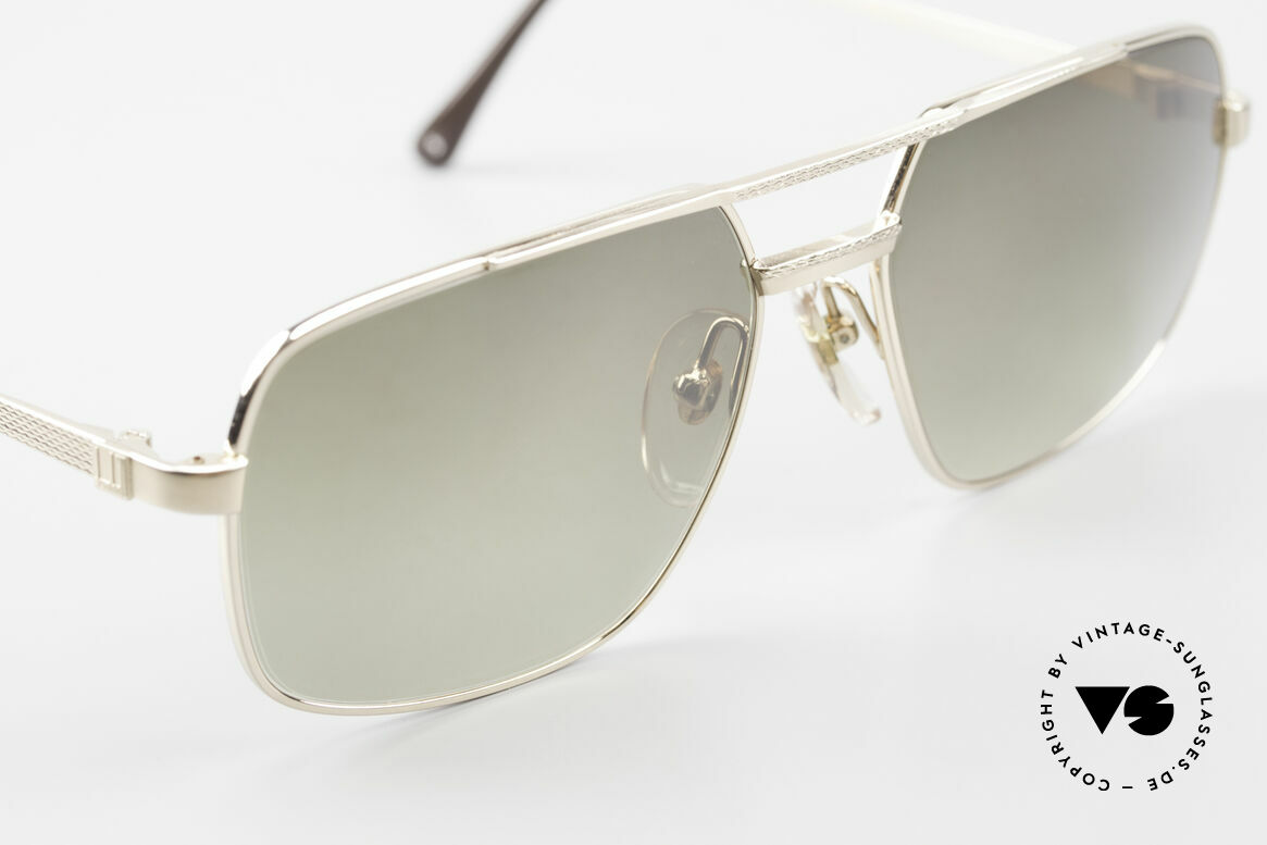 Dunhill 6068 Gold Doublé 14kt Gold Filled, (heute werden Designerbrillen für <5,- € produziert), Passend für Herren