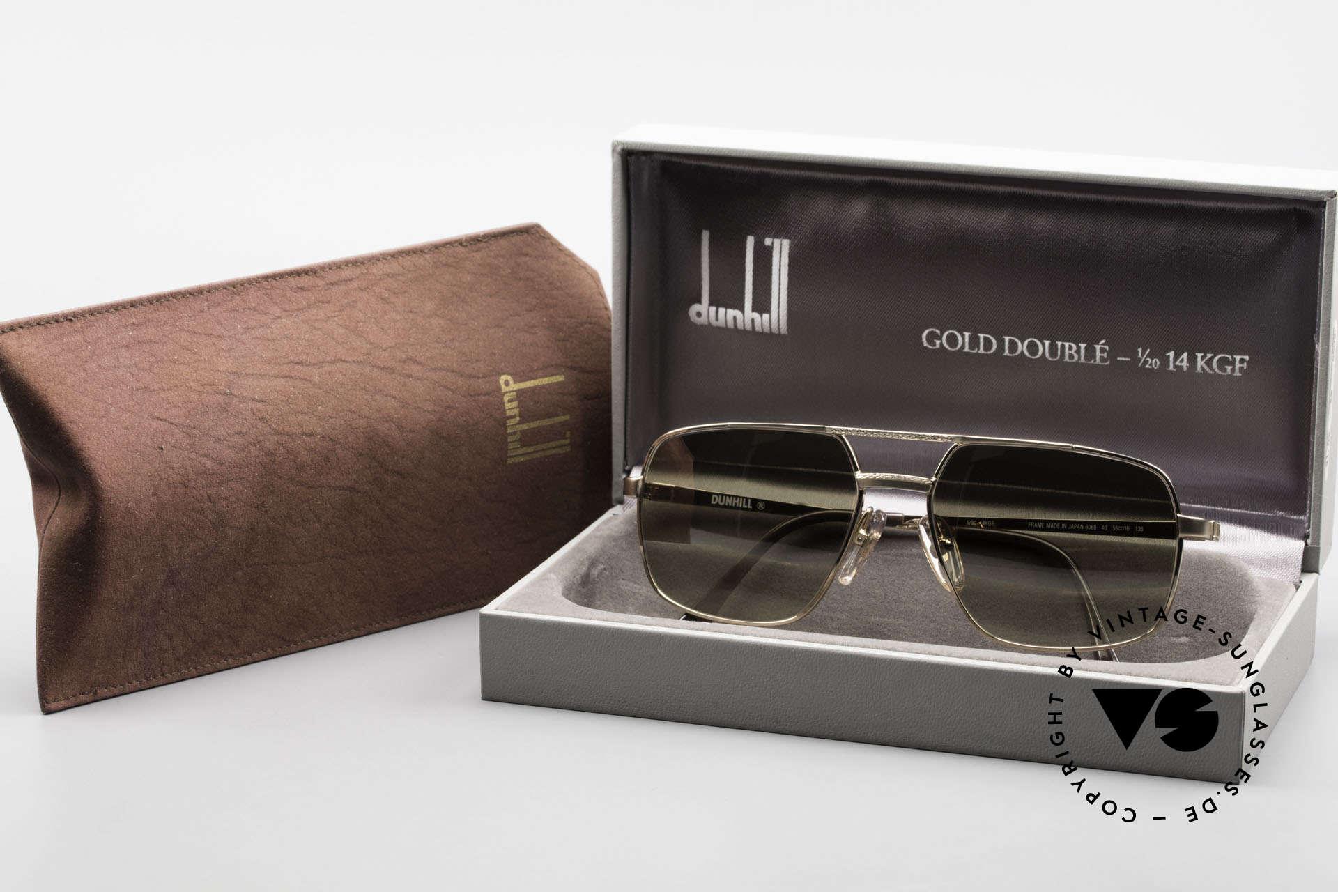 Dunhill 6068 Gold Doublé 14kt Gold Filled, Größe: medium, Passend für Herren
