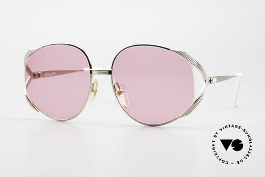Christian Dior 2387 Rosarote Damen Sonnenbrille Details
