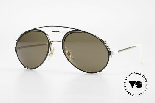 Bugatti 65787 Halb Randlose Brille Mit Clip Details