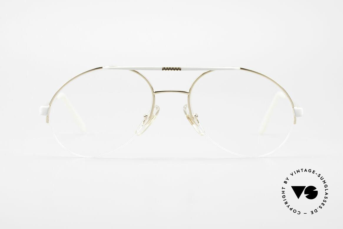 Bugatti 65787 Halb Randlose Brille Mit Clip, Größe: large, Passend für Herren