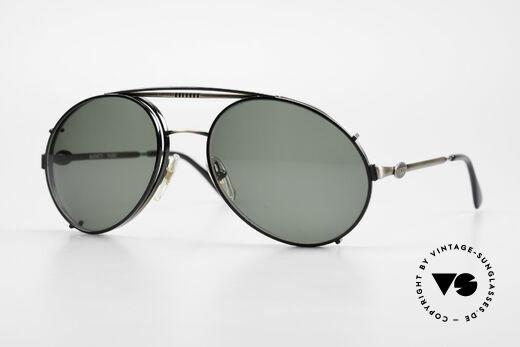 Bugatti 65282 Vintage Herren Brille 1980er Details