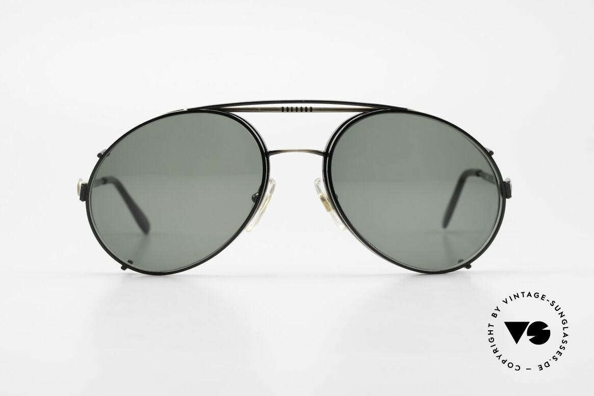 Bugatti 65282 Vintage Herren Brille 1980er, in typischer / legendärer Bugatti-Tropfenform, Passend für Herren