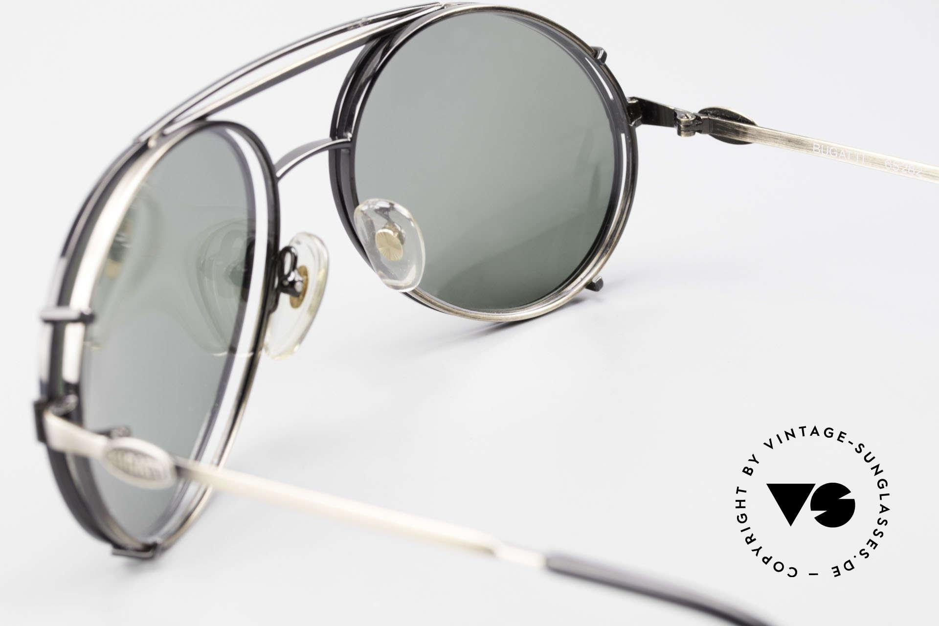Bugatti 65282 Vintage Herren Brille 1980er, ungetragen (wie alle unsere Bugatti Fassungen), Passend für Herren