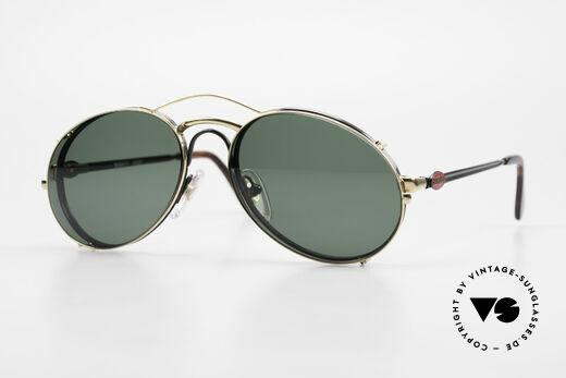 Bugatti 03327 80er Sonnenbrille Mit Clip On Details