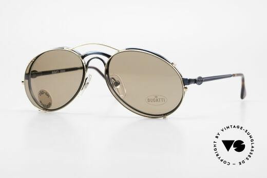 Bugatti 03328 Clip On Herrensonnenbrille Details