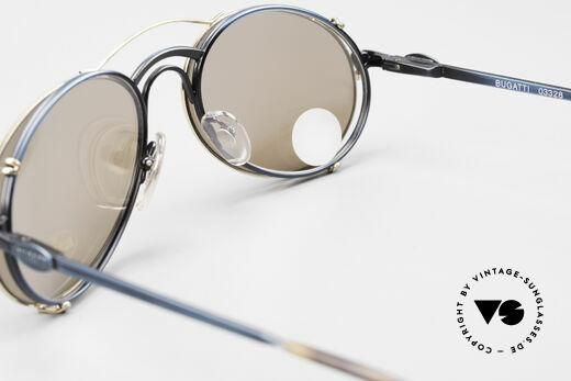 Bugatti 03328 Clip On Herrensonnenbrille, die Fassung kann natürlich beliebig verglast werden, Passend für Herren