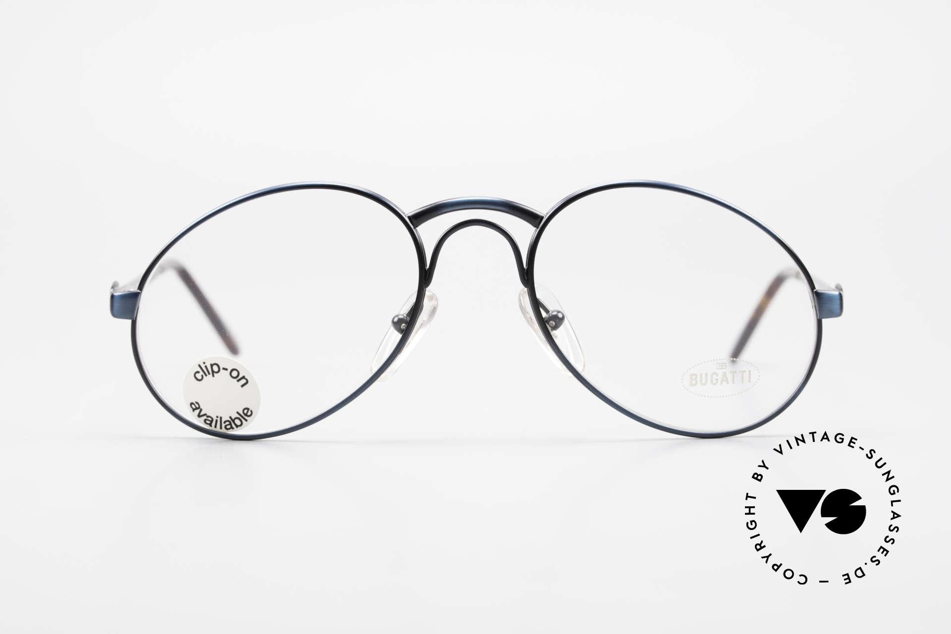 Bugatti 03328 Clip On Herrensonnenbrille, Größe: medium, Passend für Herren
