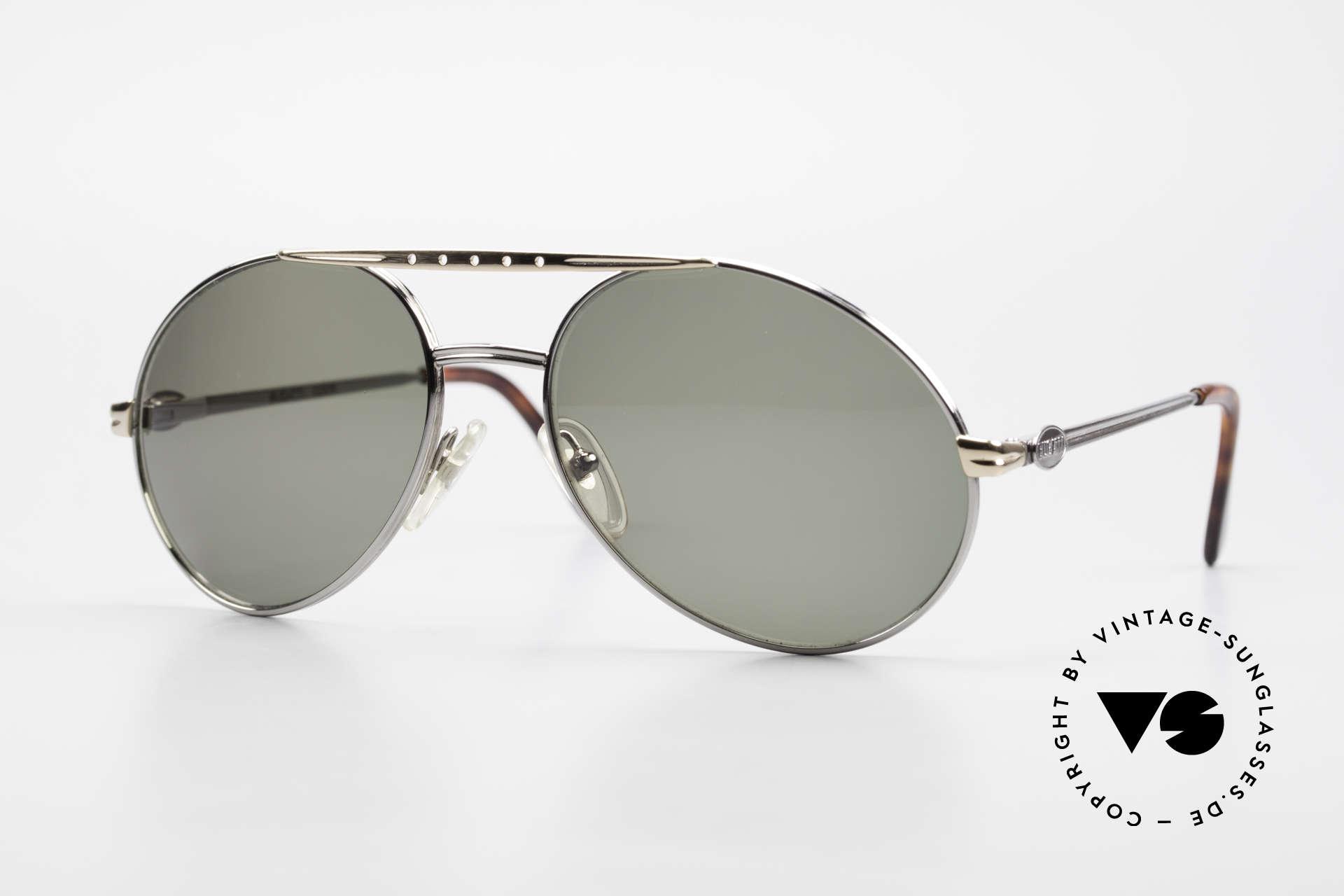 Bugatti 02926 80er Large Sonnenbrille Herren, sehr elegante Bugatti vintage Designer-Sonnenbrille, Passend für Herren