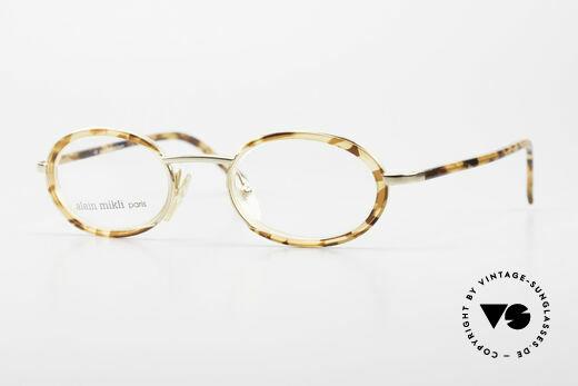 Alain Mikli 2690 / 03157 Ovale Vintage Designer Brille Details