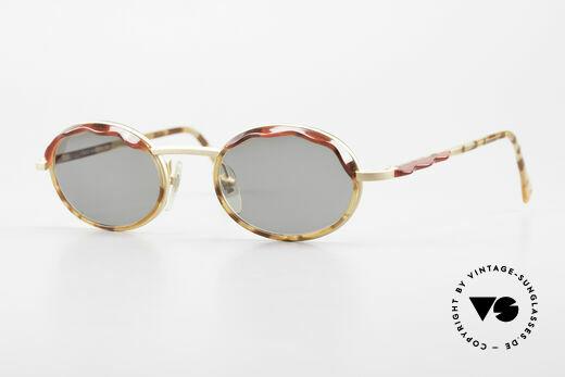 Alain Mikli 2149 / 04001 Ovale Vintage Damen Brille Details