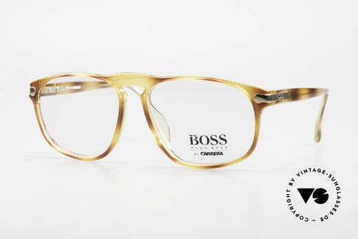 BOSS 5102 Eckige Vintage Optyl Brille Details