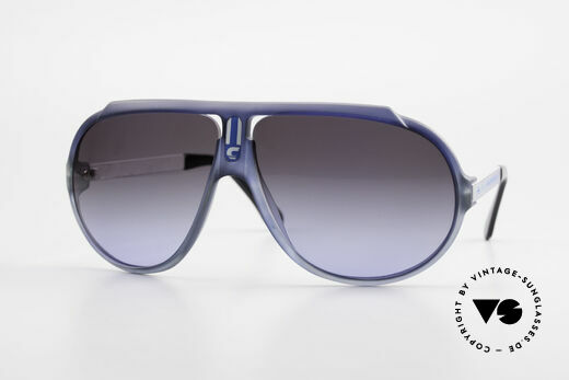 Carrera 5512 80er Kult Sonnenbrille Vintage Details