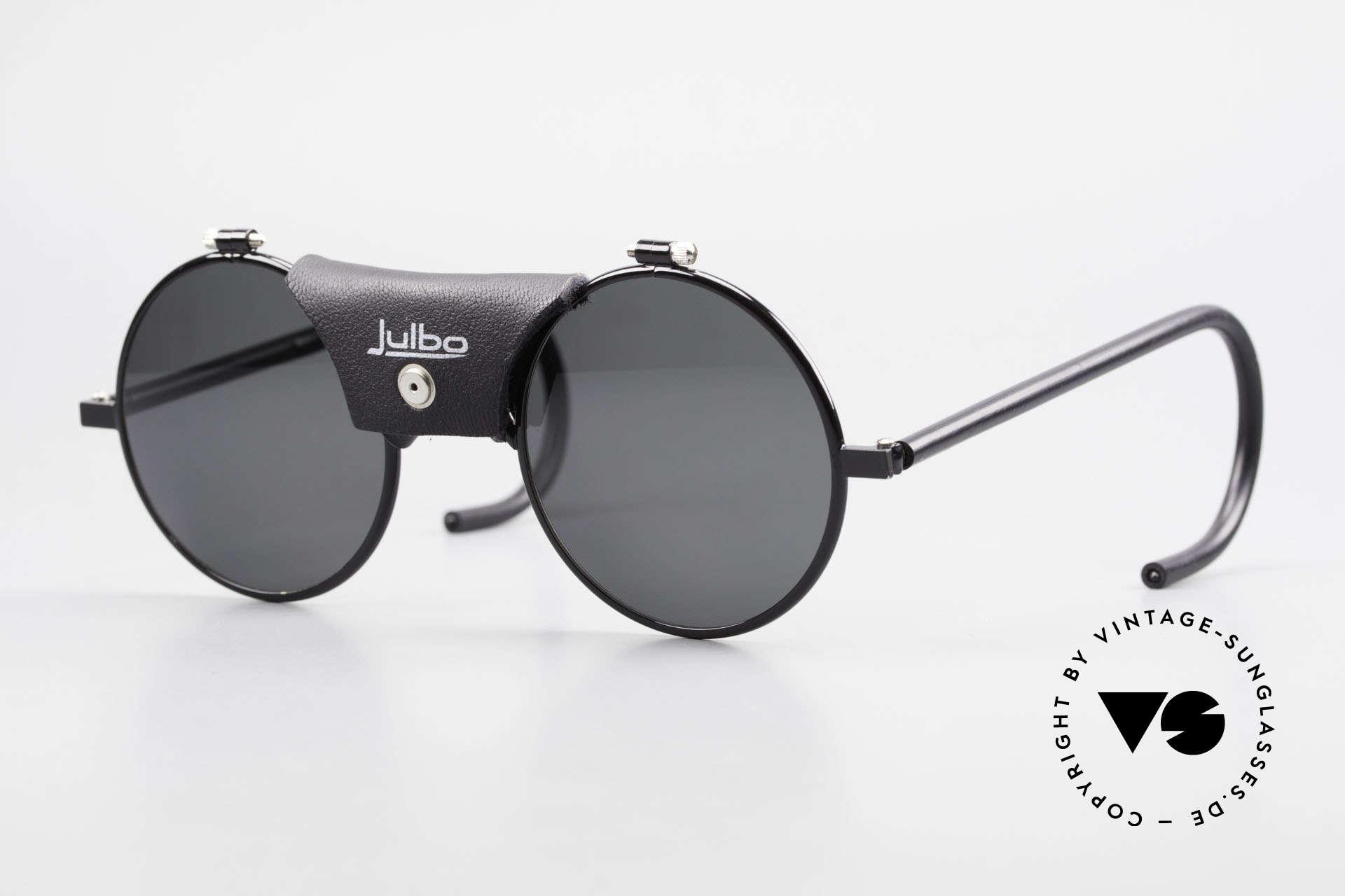 Julbo Vermont Runde Sport Sonnenbrille 90er, VINTAGE Sportbrille bzw. Gletscherbrille von JULBO, Passend für Herren