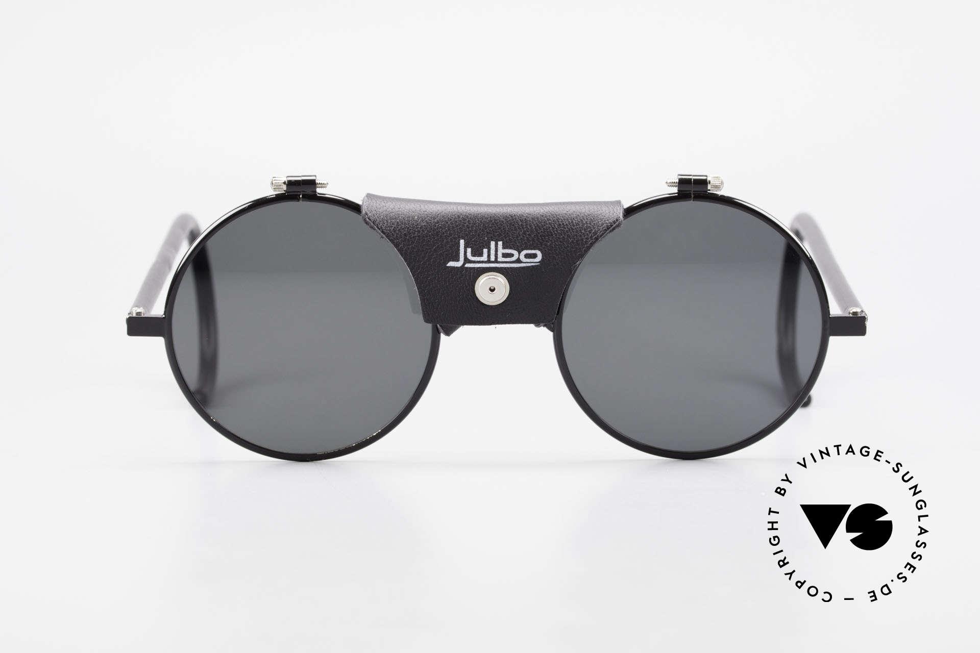Julbo Vermont Runde Sport Sonnenbrille 90er, konzipiert für den hochalpinen Einsatz & Wassersport, Passend für Herren