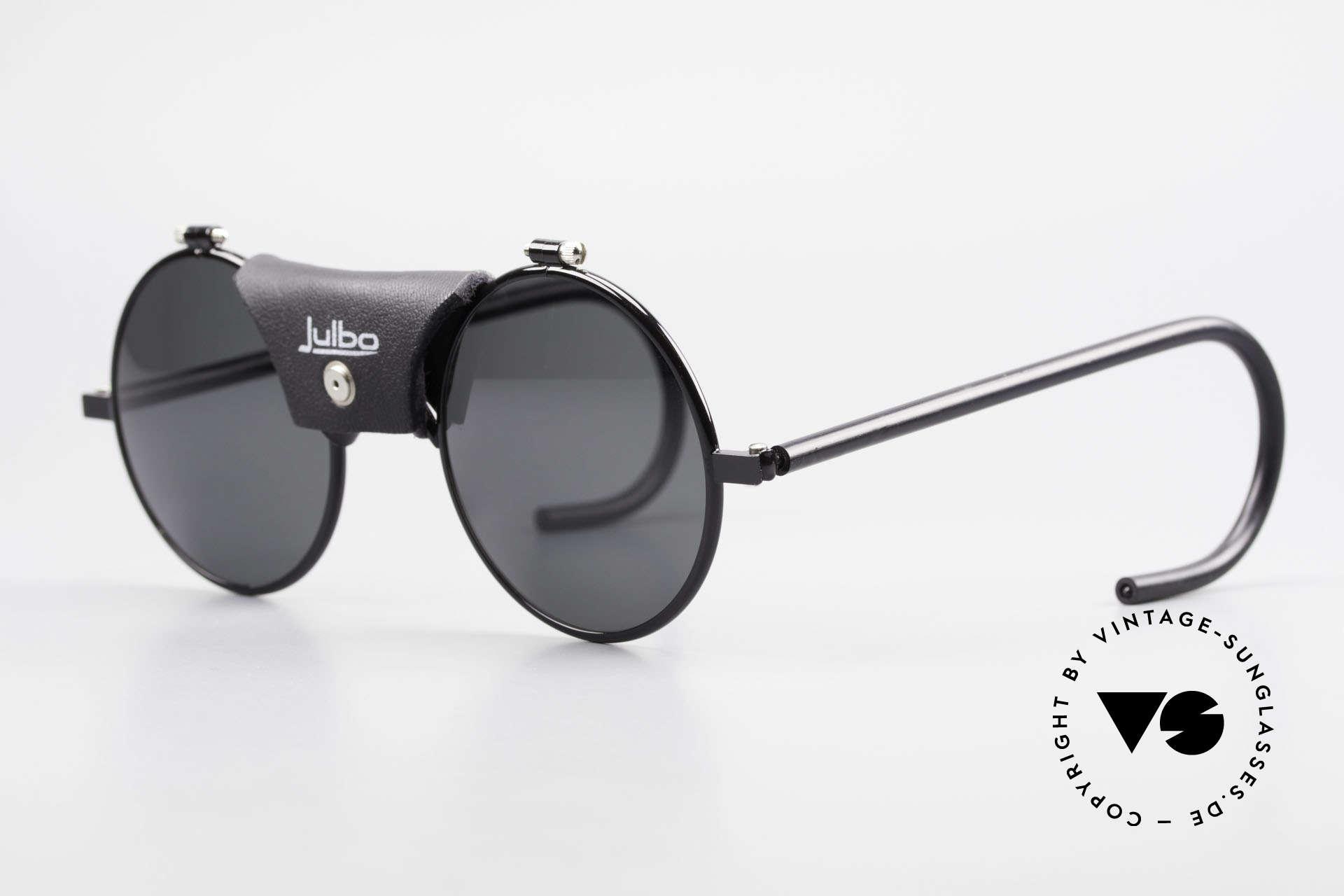 Julbo Vermont Runde Sport Sonnenbrille 90er, sehr stabile Metallfassung mit flexiblen Sport-Bügeln, Passend für Herren