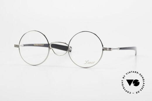 Lunor Swing A 31 Round Vintage Brille Mit Schwenksteg Details