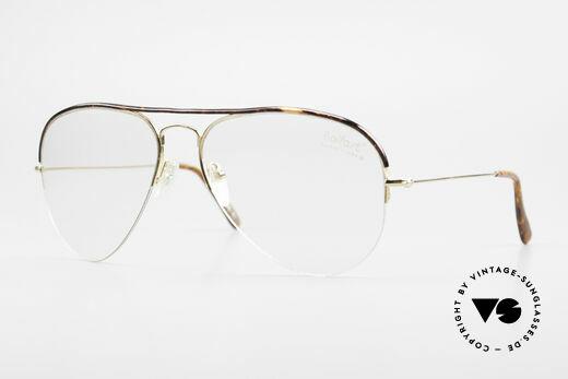 Ray Ban Balfast 808 Gold Filled Vintage Brille 80er Details