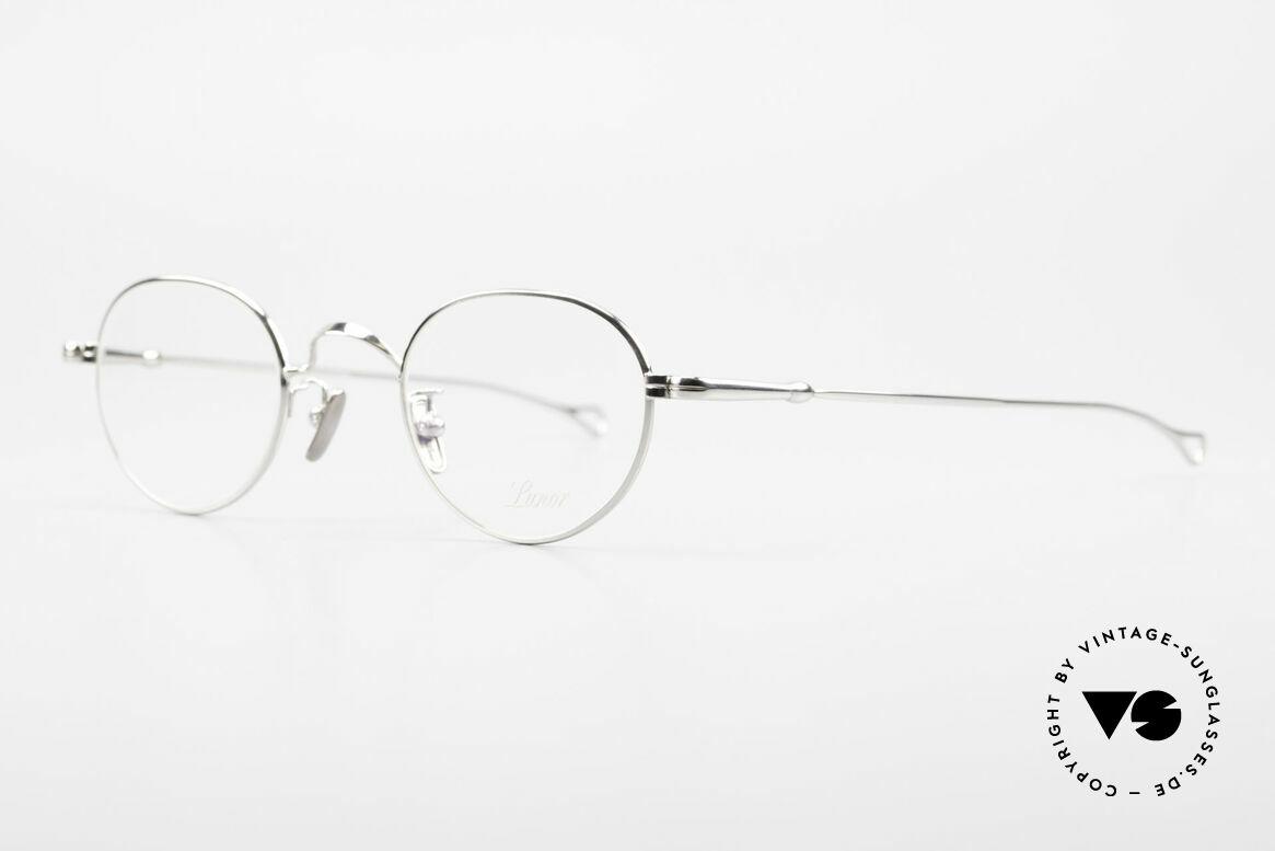 Lunor V 107 Pantobrille Herren Titanium, Modell V 107: sehr elegante Pantobrille für Herren, Passend für Herren
