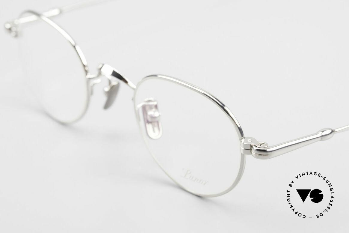 Lunor V 107 Pantobrille Herren Titanium, aus der 2011er Kollektion in altbekannter Qualität, Passend für Herren