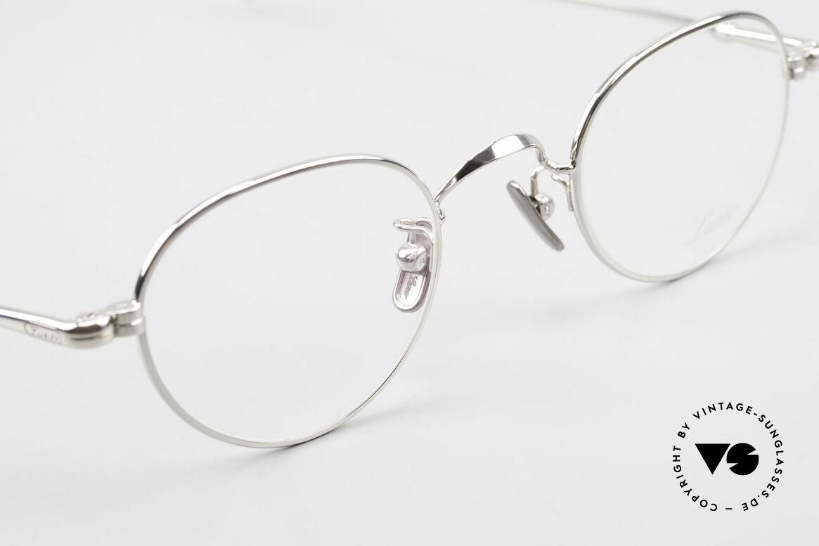 Lunor V 107 Pantobrille Herren Titanium, daher jetzt erstmalig in unserem vintage Sortiment, Passend für Herren