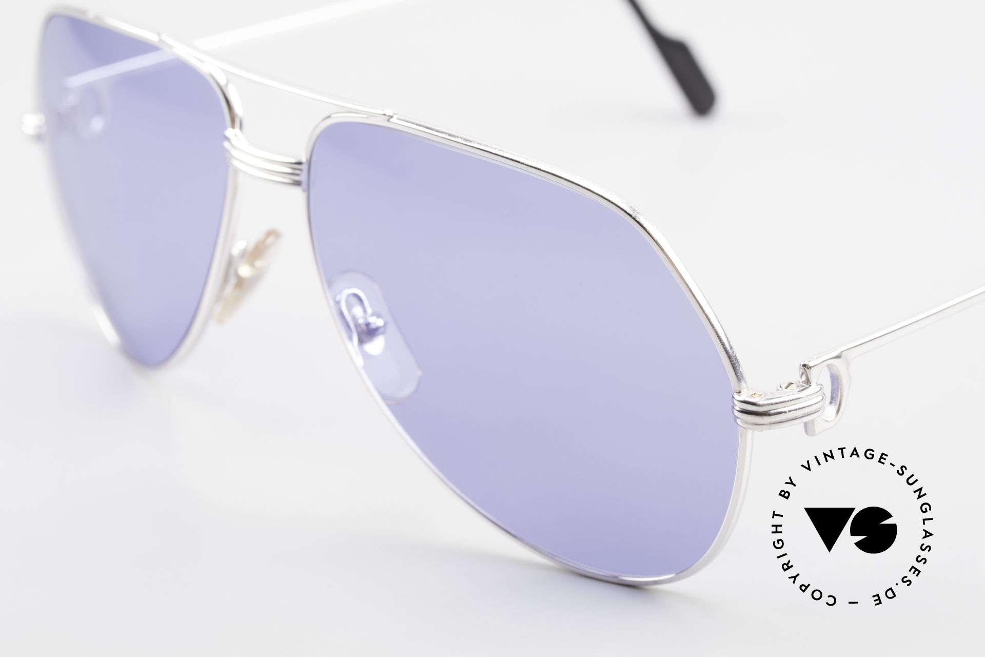 Cartier Vendome LC - L Sonderanfertigung Einzelstück, diese Farb-Variante werden Sie sonst nirgendwo finden!!, Passend für Herren