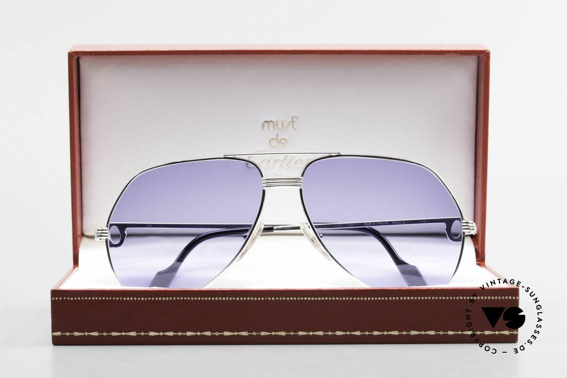 Cartier Vendome LC - L Sonderanfertigung Einzelstück, altes Original im neuen individuellen Glanz; - Luxus pur!, Passend für Herren