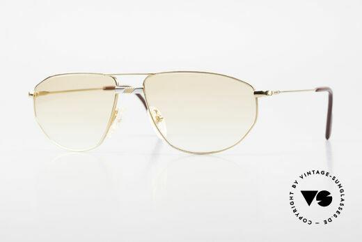 Alpina FM41 Stylische 80er Sonnenbrille Details