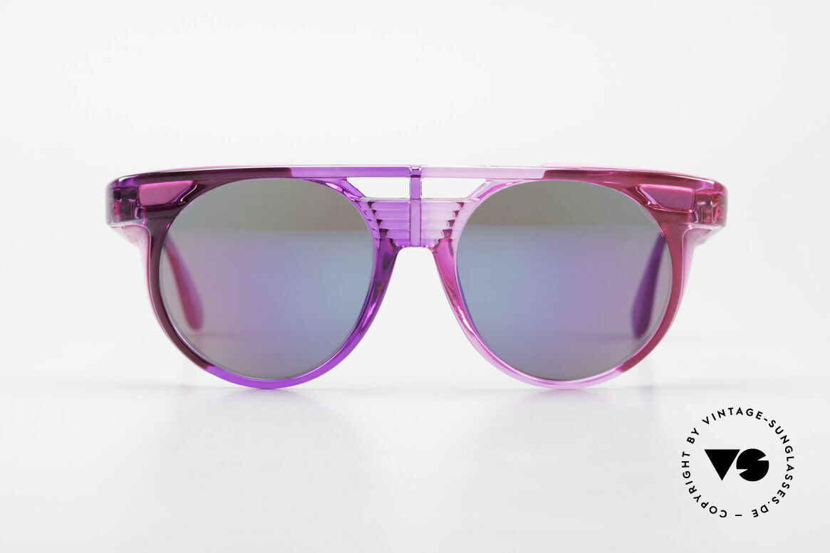 Carrera 5251 Runde Sonnenbrille Steampunk, leichtgewichtiger Rahmen in ungewöhnlicher Farbe, Passend für Herren und Damen