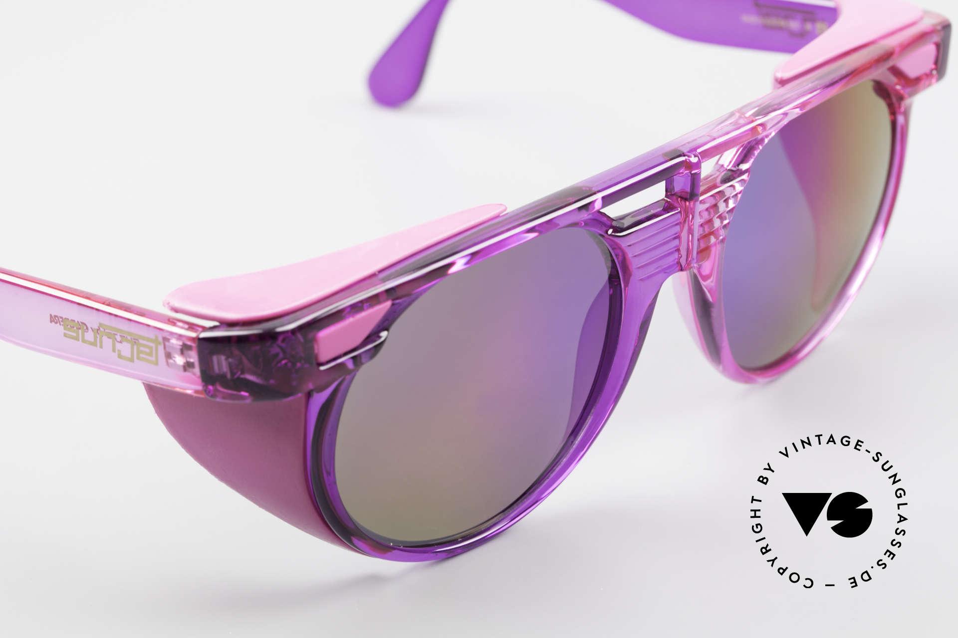 Carrera 5251 Runde Sonnenbrille Steampunk, KEIN Retro; ein altes Original mit 100% UV Schutz, Passend für Herren und Damen