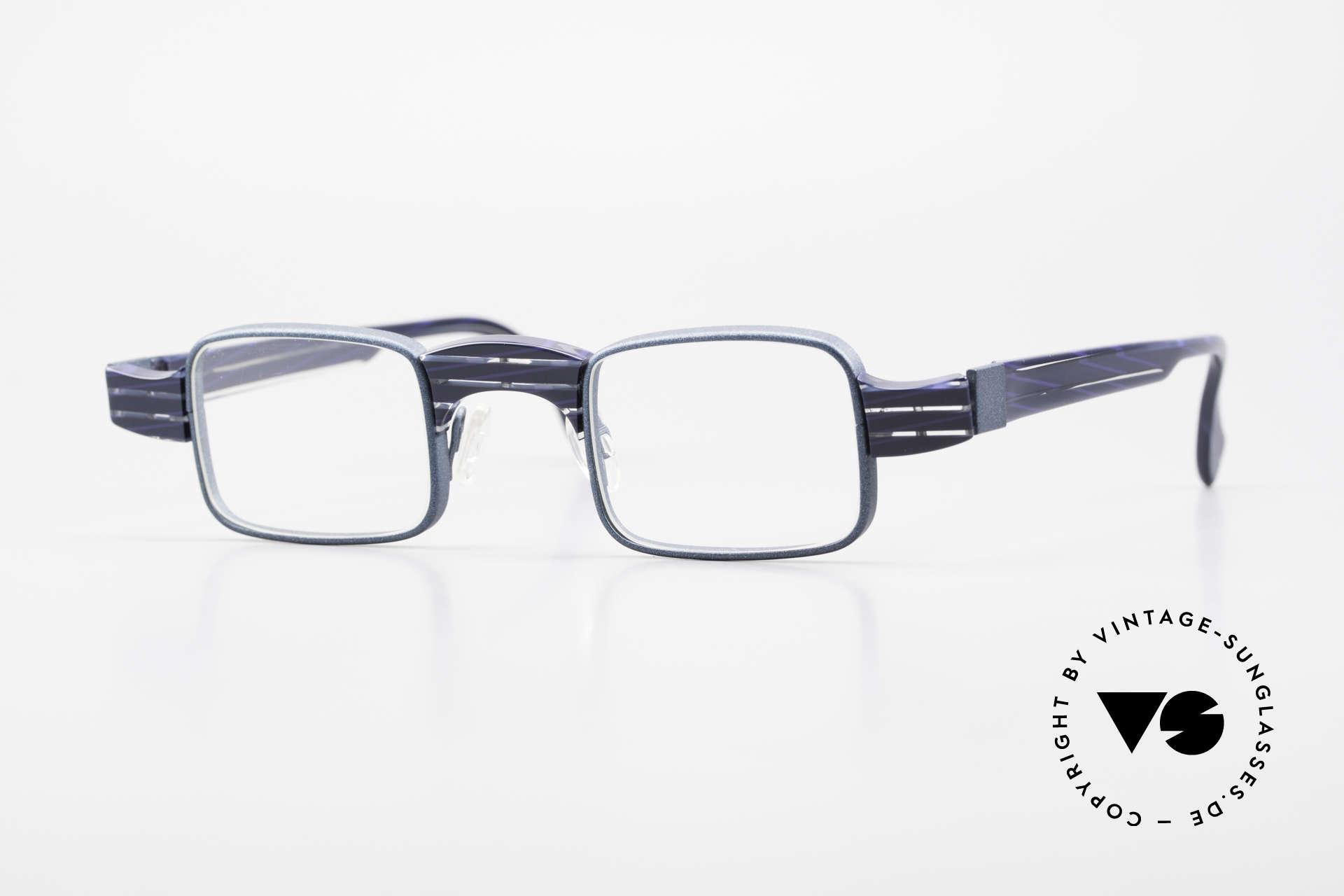 """Theo Belgium Aphrodite Vintage Kombi Designerbrille, vintage """"Kombi"""" 1990er Theo Belgium Brillenfassung, Passend für Damen"""
