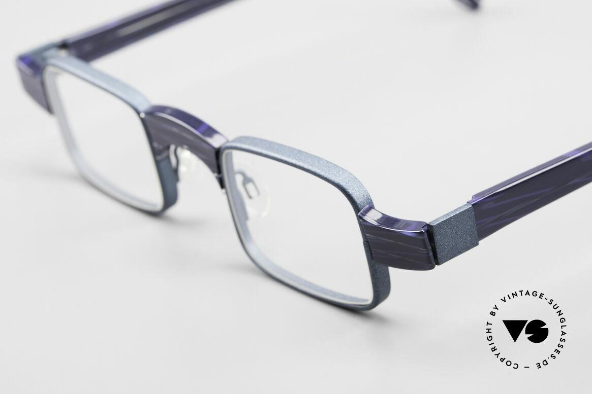 Theo Belgium Aphrodite Vintage Kombi Designerbrille, 'Theo' bekannt als Gegenpol zum üblich 'Mainstream', Passend für Damen