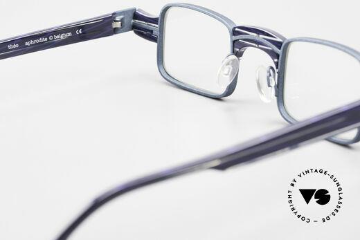 Theo Belgium Aphrodite Vintage Kombi Designerbrille, ungetragenes Theo-Exemplar für die, die sich trauen, Passend für Damen