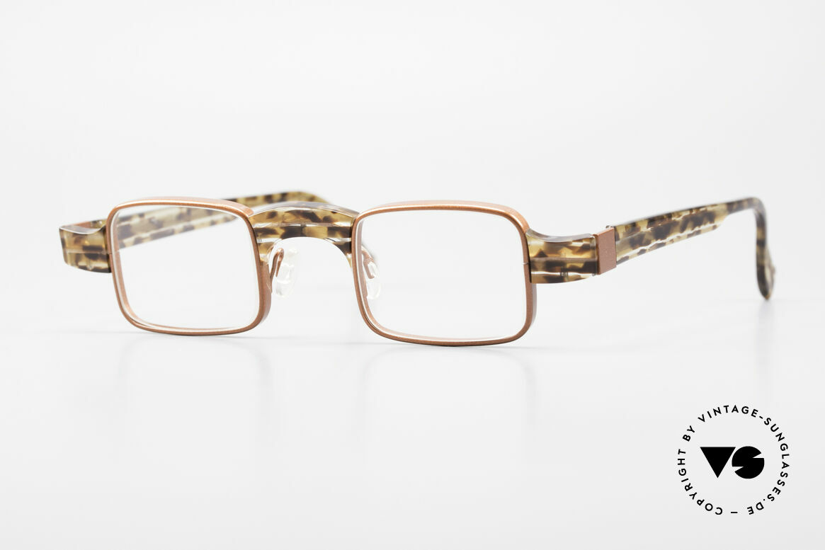 """Theo Belgium Aphrodite Vintage Damen Designerbrille, vintage """"Kombi"""" 1990er Theo Belgium Brillenfassung, Passend für Damen"""