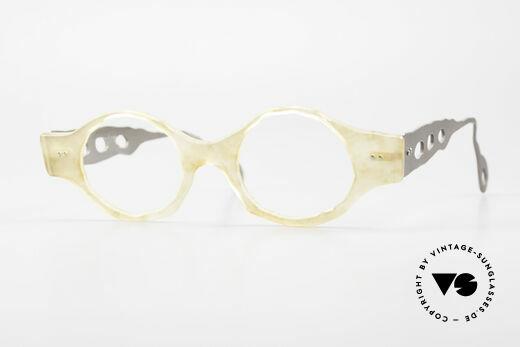 Theo Belgium Eye-Witness BK38 Avantgarde Designerbrille Details