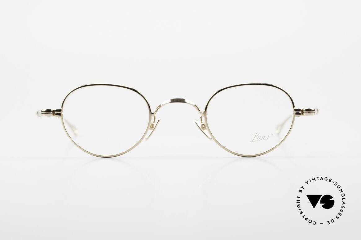 Lunor V 103 Zeitlose Fassung Vergoldet, ohne große Logos; stattdessen mit zeitloser Eleganz, Passend für Herren und Damen