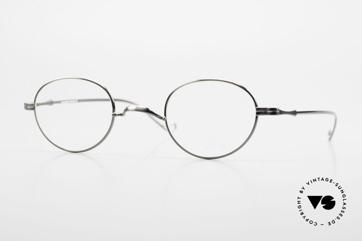 """Lunor II 21 Metallfassung Anatomisch, LUNOR = französisch für """"Lunette d'Or"""" (Goldbrille), Passend für Herren und Damen"""