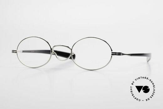 Lunor Swing A 33 Oval Vintage Brille Mit Schwenksteg Details