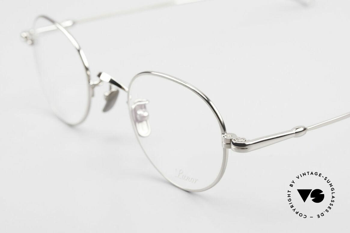 Lunor V 108 Pantobrille Platin Plattiert, aus der 2011er Kollektion in altbekannter Qualität, Passend für Herren