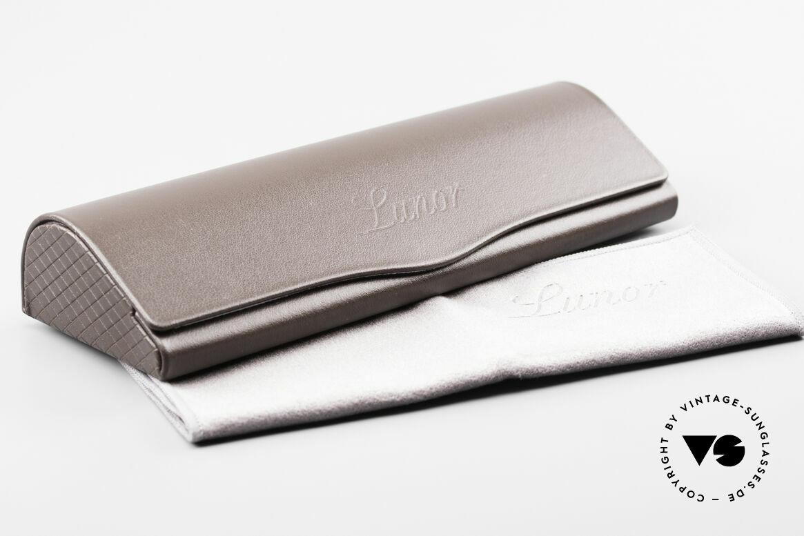 Lunor V 108 Pantobrille Platin Plattiert, Größe: medium, Passend für Herren