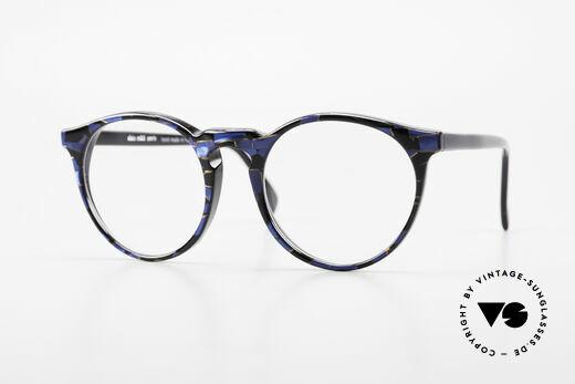 Alain Mikli 034 / 898 Vintage Designer Panto Brille Details