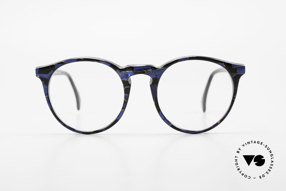 Alain Mikli 034 / 898 Vintage Designer Panto Brille, mehr 'klassisch' geht nicht (bekannte Panto-Form), Passend für Herren und Damen