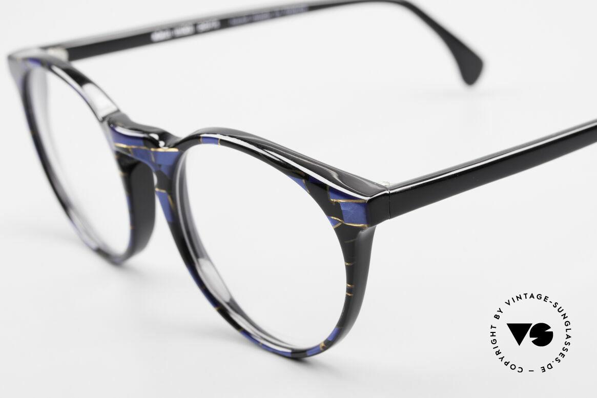 Alain Mikli 034 / 898 Vintage Designer Panto Brille, ungetragen (wie alle unsere 1980er vintage Brillen), Passend für Herren und Damen