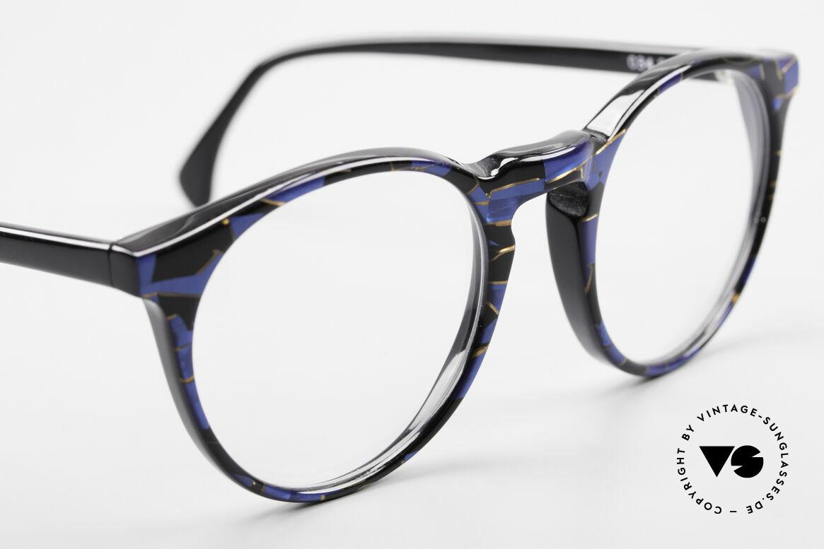 Alain Mikli 034 / 898 Vintage Designer Panto Brille, KEINE Retromode, sondern ein altes Mikli-Original, Passend für Herren und Damen