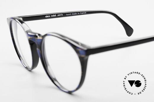 Alain Mikli 034 / 898 Vintage Designer Panto Brille, Demogläser können durch optische ersetzt werden, Passend für Herren und Damen