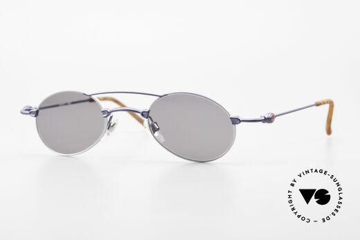 Bugatti 10864 Ovale Luxus Sonnenbrille Men Details