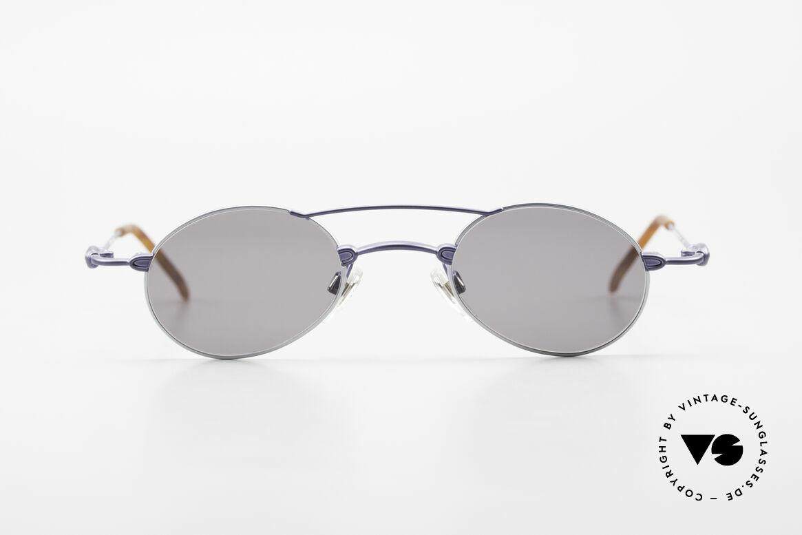 Bugatti 10864 Ovale Luxus Sonnenbrille Men, Material und Verarbeitung auf Top-Niveau in Gr. 44°23, Passend für Herren
