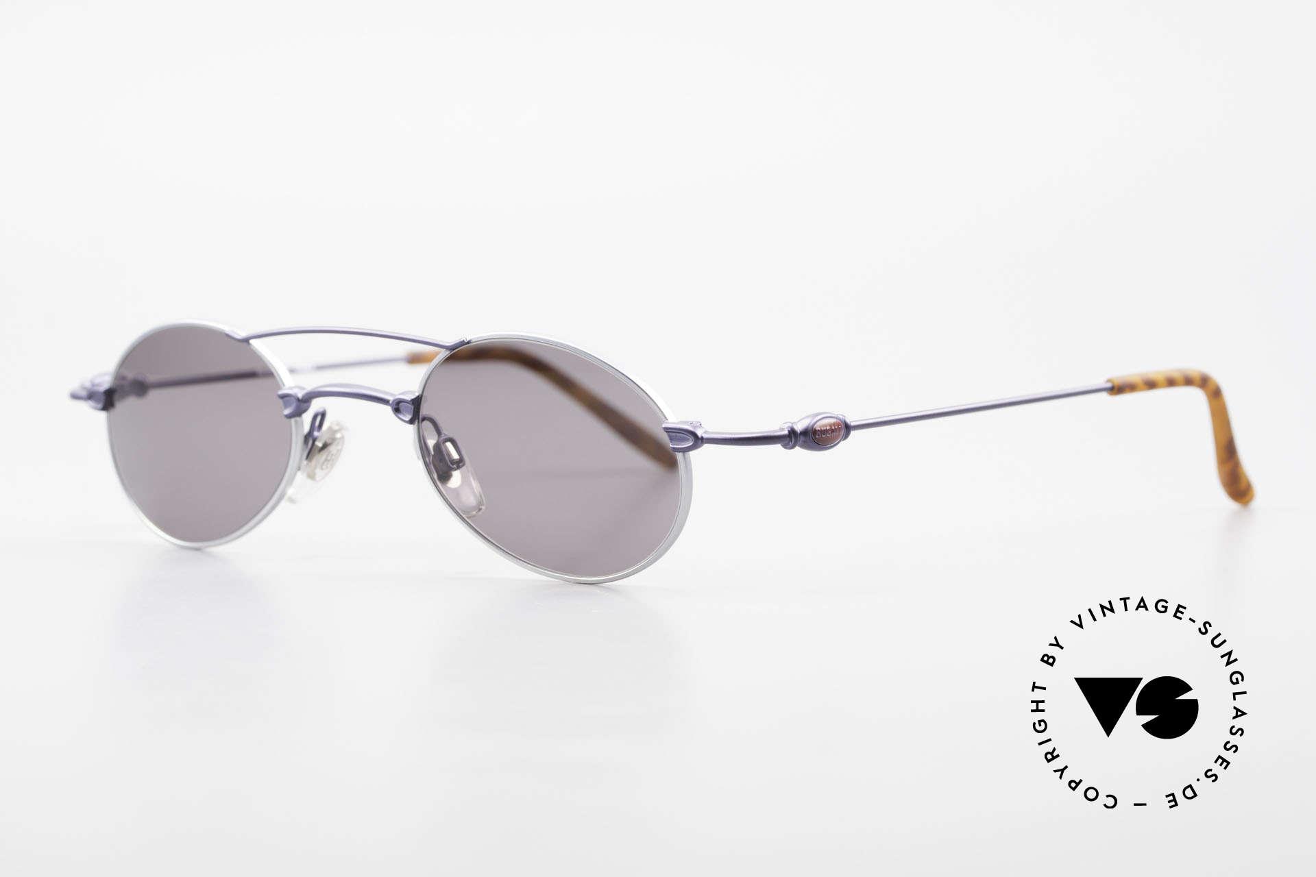 Bugatti 10864 Ovale Luxus Sonnenbrille Men, klassische, zeitlose Brillenform (Gentlemen's Fassung), Passend für Herren